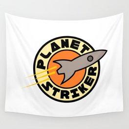Planet Striker Wall Tapestry