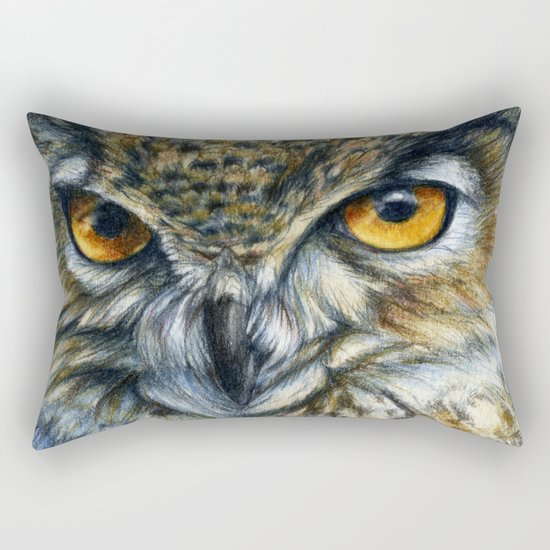 Owl 811 Rectangular Pillow