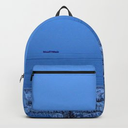 Frosted Light and Ship Backpack