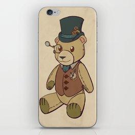 Steampunk Children's Teddy Bear iPhone Skin