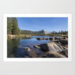 Tuolumne River and Meadows, No. 1 Art Print
