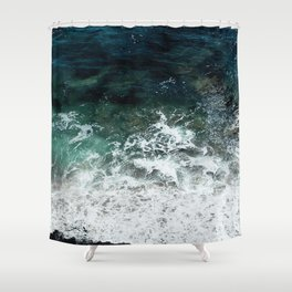 Pacific Ocean Colors Shower Curtain