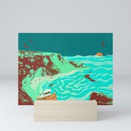 PHANTOM SHORE Mini Art Print