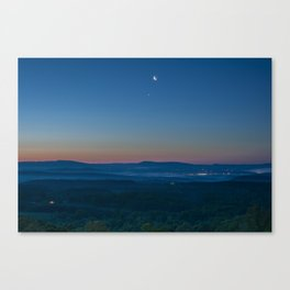 Sunrise at Sideling Hill Canvas Print