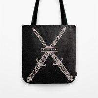 vendetta Tote Bags featuring V for Vendetta by Drew Wallace