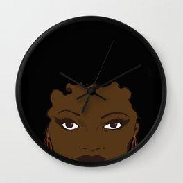 Cleopatra Jones Wall Clock