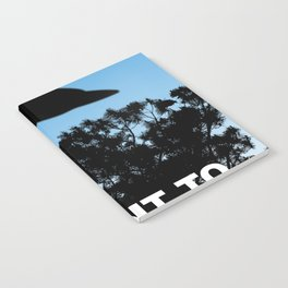 I Want to Believe poster Notebook