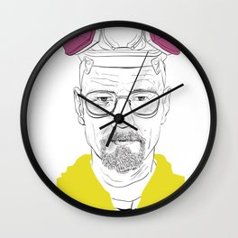 I'm the One Who Knocks Wall Clock