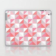 Peach Geometric; Laptop & iPad Skin