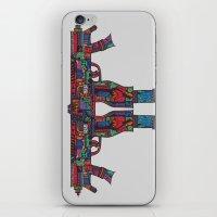 guns iPhone & iPod Skins featuring Guns by Sharif El Fatatry