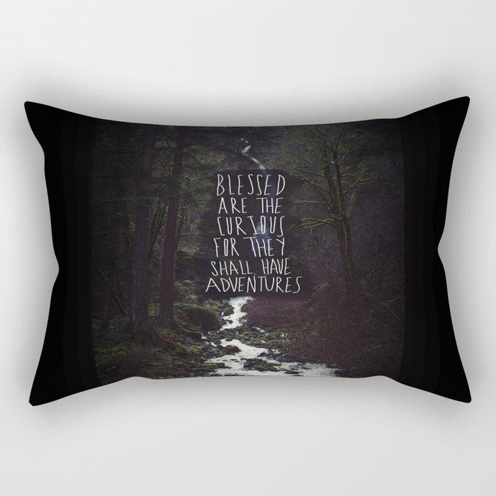 Curious Adventures Rectangular Pillow