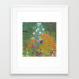 Beautiful Garden Framed Art Print