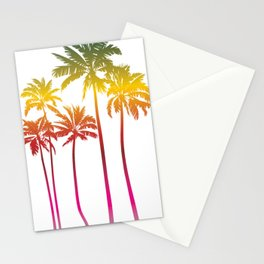 Magical palms trees Stationery Cards
