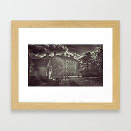 Breakers Mansion - Front View Framed Art Print