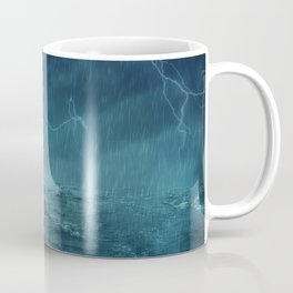 Lost in the ocean Coffee Mug