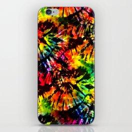 Vivid Psychedelic Hippy Tie Dye iPhone Skin