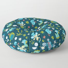Bubble Beam Floor Pillow