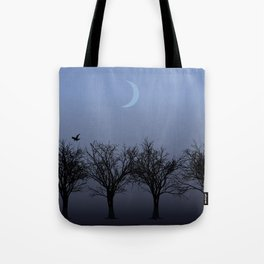 4 Trees Tote Bag