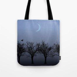 4 Trees Tote Bag