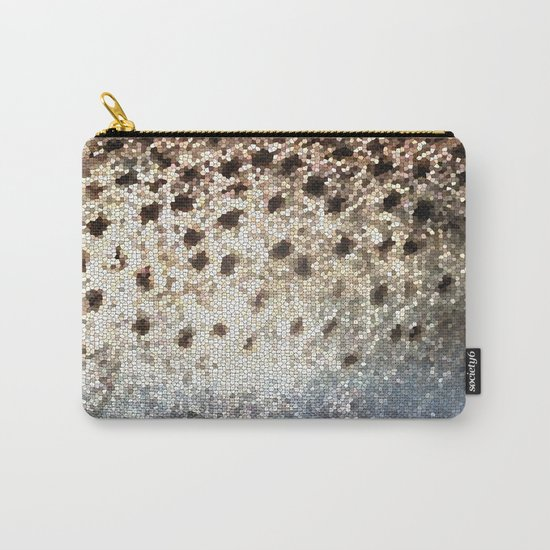 Trout Scales Carry-All Pouch