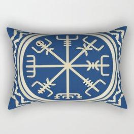 Viking Vegvisir Compass Rectangular Pillow