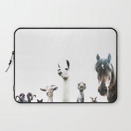 Animal Crew Laptop Sleeve