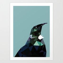 Tui Geo Art Print