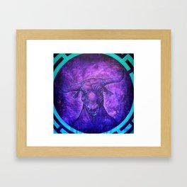 Lost minotaur Framed Art Print