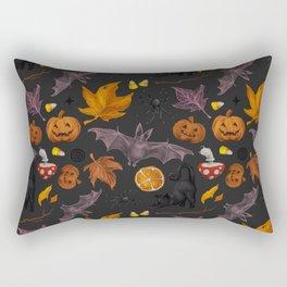 October pattern Rectangular Pillow