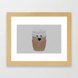 Joyous Coffee Framed Art Print