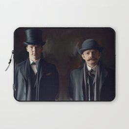 Holmes and Watson Laptop Sleeve