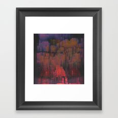 Urban Poetry in the Floating Town / 27-11-16 Framed Art Print