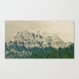 Castle Crags - California Canvas Print