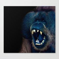 The Laughing Orangutan Canvas Print