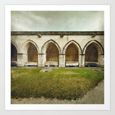 Ghost Abbey Art Print