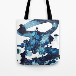 A beautiful spring morning on the beach. Tote Bag