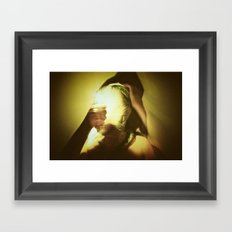 Baghead Framed Art Print