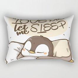 You love me? Rectangular Pillow