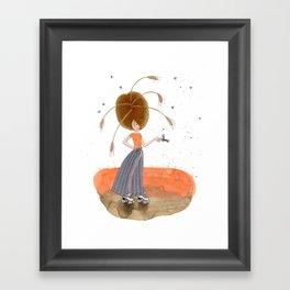 the keeper of the flies Framed Art Print