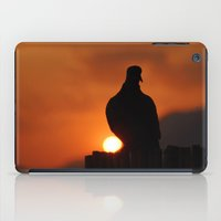pigeon iPad Cases featuring pigeon by laika in cosmos