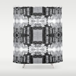 New Orleans Cemetery - Mirror Shower Curtain