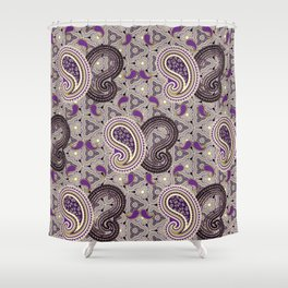 Purpified Shower Curtain