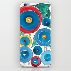 magic garden2 iPhone & iPod Skin