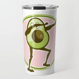 Avocado Dabbing Travel Mug