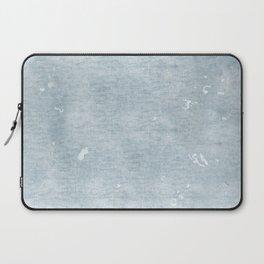 distressed chambray denim Laptop Sleeve