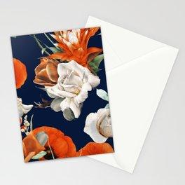 Citrus Floral Salad Stationery Cards