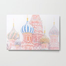 Russian Winter Metal Print
