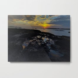 kettle cove sunset 2 Metal Print