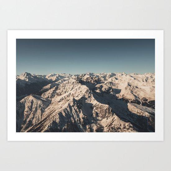 Lord Snow - Landscape Photography Art Print