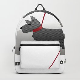 I'm Dotty about my Scottie Backpack
